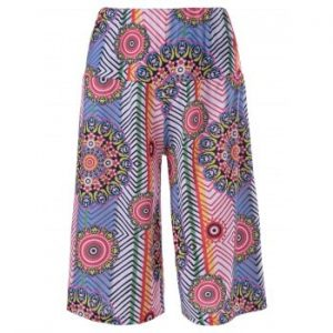 Ethnic Print Hit Color Pants