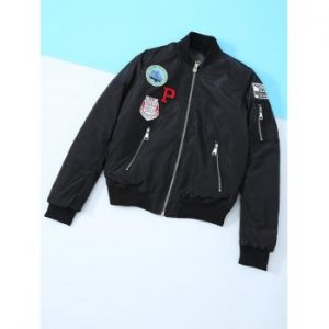 Appliques Embroidered Jacket