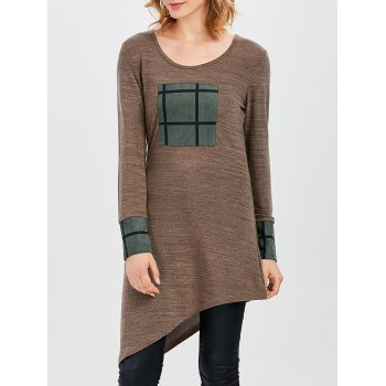 Long Sleeve Asymmetric Tunic Top