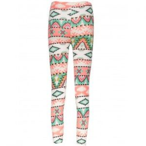 Geometrical Christmas Pattern Leggings