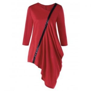 Asymmetric Tunic Top