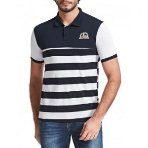 Color Block Stripe T shirt