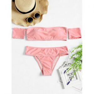 High Cut Bandeau Bikini