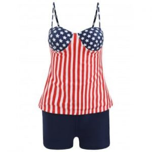 Stars and Stripes Tankini