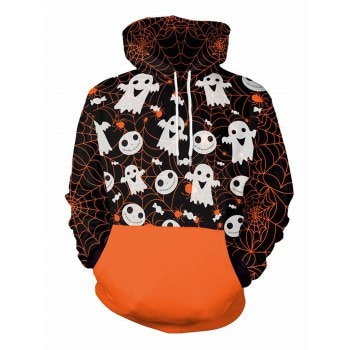Halloween  Unisex Casual 3D Patterns Print Athletic Sweaters Fashion Hoodies Sweatshirts