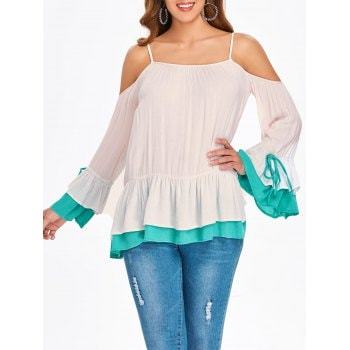 Layered Skirted Blouse