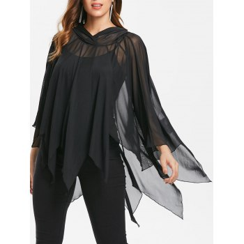 Cape With Tank Top
