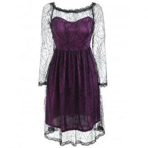 Halloween Lace Dress