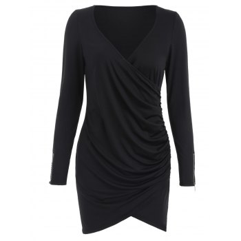 Slim Fit Ruched Dress