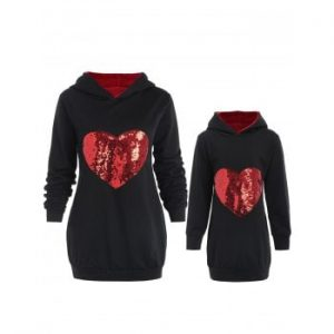 Mother and Daughter Matching Hoodie
