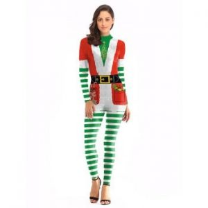 Santa Claus Performance Clothing Christmas Clothes Coveralls