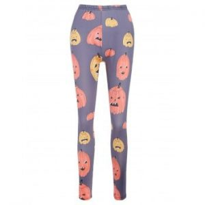 Halloween Cartoon Pumpkins Pants