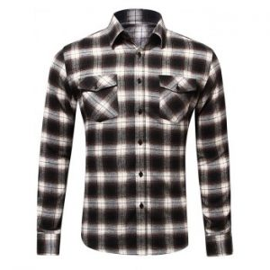 Tartan Design Chest Pocket Shirt