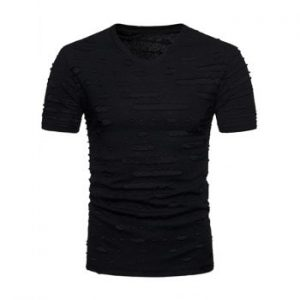V Neck Short Sleeve T shirt