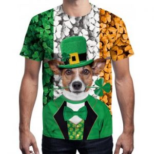 3D Dog Printed T shirt