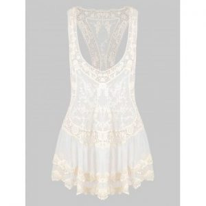 Mesh Sheer Cover Up
