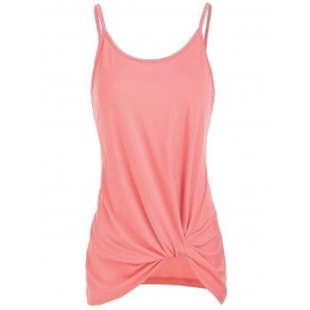Knotted Solid Tank Top