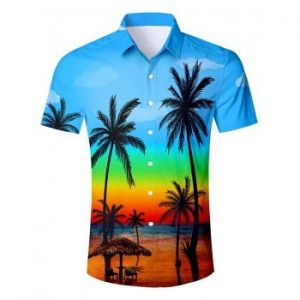 Hawaii Style Short Sleeves Shirt