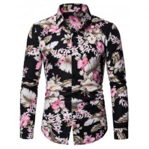 Floral Printed Leisure Shirt