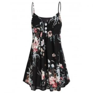 Flower Casual Cami Top