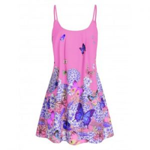 Cami Butterfly Casual Dress