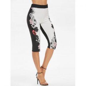 Flower Skinny Leggings