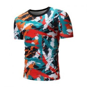 Colorful Painting Graphic Print T shirt