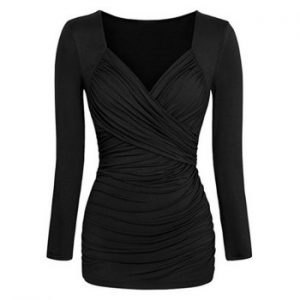 Ruched Sweetheart T shirt