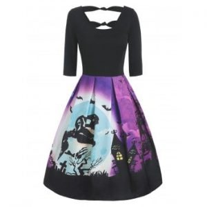 Halloween Knotted Dress