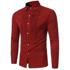 Solid Color Button Down Shirt