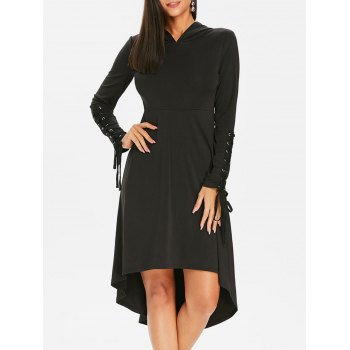 Lace Up Gothic Dress