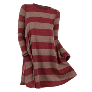 Striped Long Sleeve Knitwear
