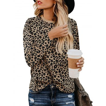 Leopard Long Sleeve T shirt